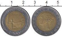 Изображение Дешевые монеты Италия 500 лир 1982 Биметалл XF