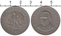 Изображение Дешевые монеты Польша 20 злотых 1976 Медно-никель XF-