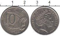 Изображение Дешевые монеты Австралия и Океания Австралия 10 центов 2006 Медно-никель XF
