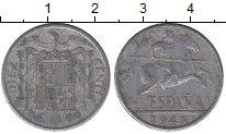 Изображение Дешевые монеты Европа Испания 10 сентим 1945 Алюминий VF