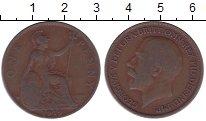 Изображение Дешевые монеты Великобритания 1 пенни 1919 Медь VF+