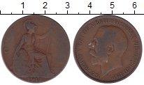 Изображение Дешевые монеты Великобритания 1 пенни 1912 Медь VF-