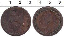 Изображение Дешевые монеты Великобритания 1 пенни 1921 Медь VF-