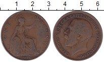 Изображение Дешевые монеты Европа Великобритания 1 пенни 1916 Медь VF