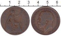 Изображение Дешевые монеты Европа Великобритания 1 пенни 1919 Медь VF-