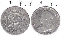 Изображение Монеты Европа Великобритания 1 флорин 1898 Серебро VF