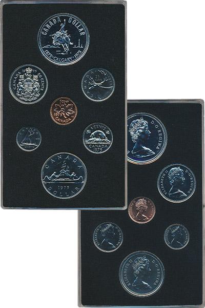 Изображение Подарочные монеты Канада Набор 1975 года 1975  Proof