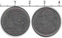 Изображение Дешевые монеты Азия Таиланд 1 бат 2009 Медно-никель XF