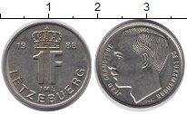 Изображение Дешевые монеты Европа Люксембург 1 франк 1988 Медно-никель XF+