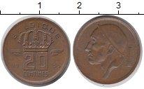Изображение Дешевые монеты Бельгия 20 сантим 1953 Медь XF-