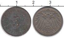 Изображение Дешевые монеты Европа Германия 5 пфеннигов 1918 Медно-никель VG