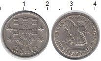 Изображение Дешевые монеты Португалия 2 1/2 эскудо 1983 Медно-никель XF