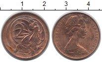 Изображение Дешевые монеты Австралия 2 цента 1979 Медь VF