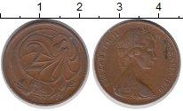 Изображение Дешевые монеты Австралия 2 цента 1970 Медь VF