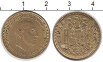 Изображение Дешевые монеты Европа Испания 1 песета 1966 Латунь VF+