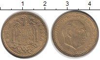 Изображение Дешевые монеты Европа Испания 1 песета 1963 Медно-никель XF