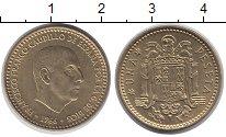 Изображение Дешевые монеты Европа Испания 1 песета 1966 Медно-никель XF