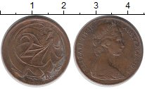 Изображение Дешевые монеты Австралия и Океания Австралия 2 цента 1974 Медь XF