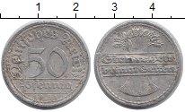 Изображение Дешевые монеты Европа Германия 50 пфеннигов 1921 Алюминий VF-
