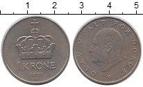 Изображение Дешевые монеты Норвегия 1 крона 1979 Медно-никель XF