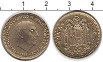 Изображение Дешевые монеты Европа Испания 1 песета 1966 Латунь XF
