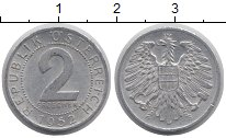 Изображение Дешевые монеты Европа Австрия 2 гроша 1952 Алюминий XF