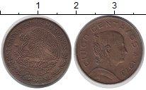 Изображение Дешевые монеты Северная Америка Мексика 5 сентаво 1973 Медь XF