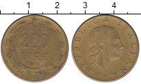 Изображение Дешевые монеты Италия 200 лир 1978 Латунь VF