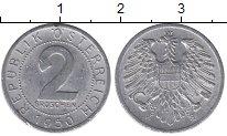 Изображение Дешевые монеты Европа Австрия 2 гроша 1950 Алюминий XF