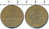 Изображение Дешевые монеты Европа Франция 10 франков 1978 Латунь XF-