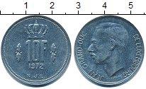 Изображение Дешевые монеты Люксембург 10 франков 1972 Медно-никель XF-
