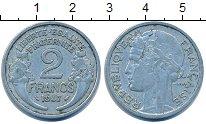 Изображение Дешевые монеты Европа Франция 2 франка 1947 Алюминий VF+