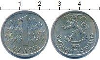Изображение Дешевые монеты Финляндия 1 марка 1976 Медно-никель XF+