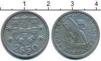 Изображение Дешевые монеты Португалия 2,5 эскудо 1971 Медно-никель XF