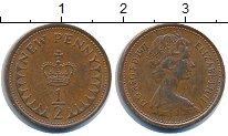 Изображение Дешевые монеты Великобритания 1/2 пенни 1971 Медно-никель XF