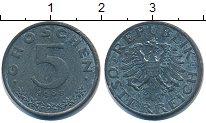 Изображение Дешевые монеты Европа Австрия 5 грош 1968 Цинк XF