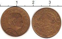 Изображение Дешевые монеты Мексика 5 сентаво 1973 Латунь XF-
