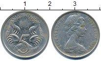 Изображение Дешевые монеты Австралия 5 центов 1978 Медно-никель VF
