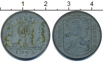 Изображение Дешевые монеты Бельгия 1 франк 1943 Цинк VF-