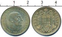 Изображение Дешевые монеты Испания 1 песета 1966 Латунь-сталь XF+