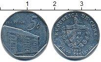 Изображение Дешевые монеты Куба 5 сентаво 1994 Медно-никель XF