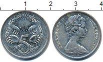 Изображение Дешевые монеты Австралия и Океания Австралия 5 центов 1977 Медно-никель XF-