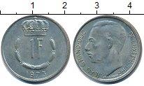Изображение Дешевые монеты Люксембург 1 франк 1973 Медно-никель XF