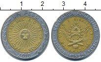 Изображение Дешевые монеты Аргентина 1 песо 2010 Биметалл XF+