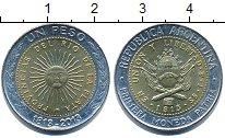 Изображение Дешевые монеты Южная Америка Аргентина 1 песо 2013 Биметалл XF+