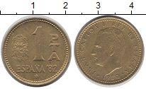 Изображение Дешевые монеты Европа Испания 1 песета 1980 Латунь
