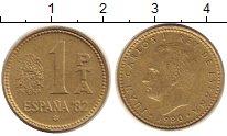 Изображение Дешевые монеты Европа Испания 1 песета 1980 Бронза VF+