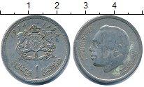 Изображение Дешевые монеты Африка Марокко 1 дирхем 1974 Медно-никель XF-