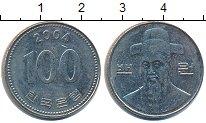 Изображение Дешевые монеты Южная Корея 100 вон 2004 Медно-никель XF-