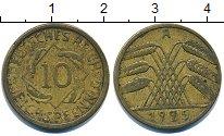 Изображение Дешевые монеты Европа Германия 10 пфеннигов 1925 Латунь XF-